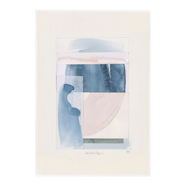 Picture of WATER COLOUR COLLAGE V - LG