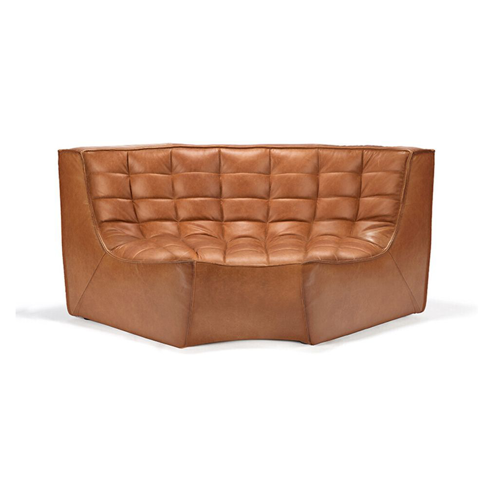 Picture of LEATHER SECTIONAL-RD CORNER,OS