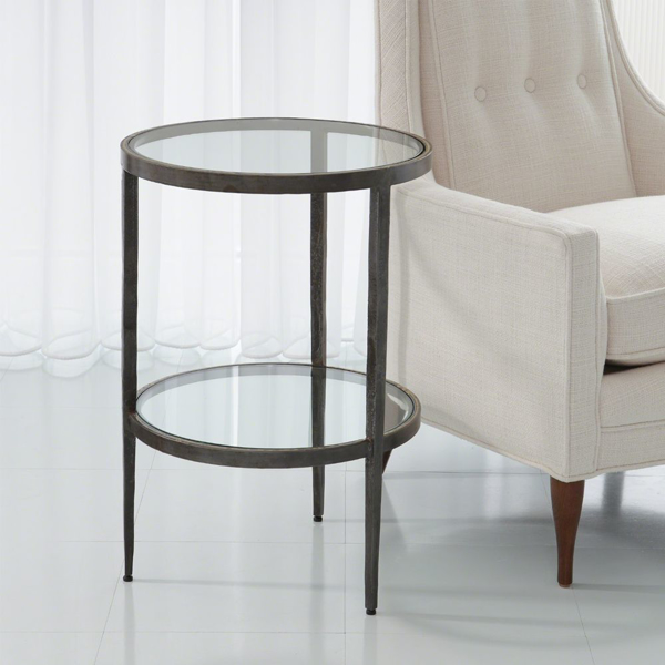 Picture of LAFORGE TWO-TIER SIDE TABLE,BR
