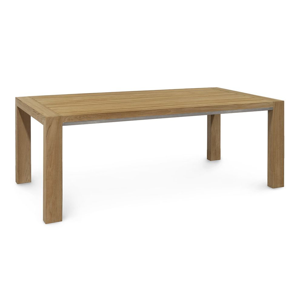 Picture of PALMER TEAK RECT. DINING TABLE