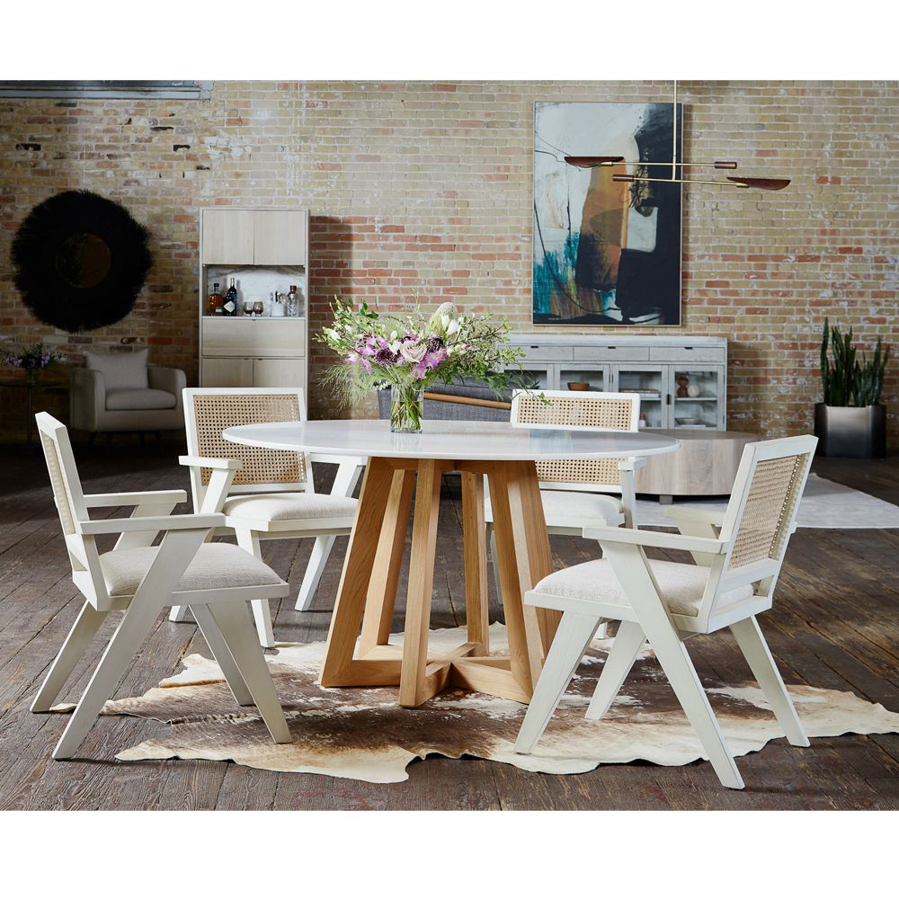 Picture of FLORA DINING CHAIR, CREAM