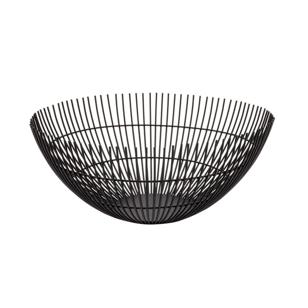 Picture of RIB METAL WIRE BOWL, BLACK