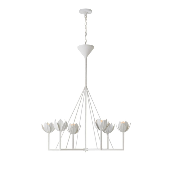 Picture of ALBERTO LG 1-TR CHANDELIER, PW