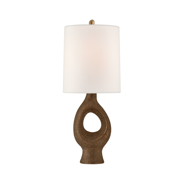 Picture of CAPRA MEDIUM TABLE LAMP, GOLD