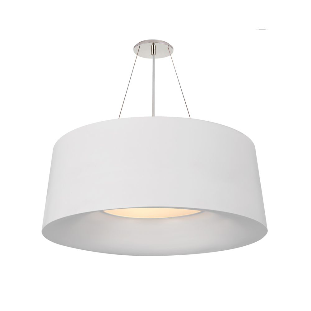 Picture of HALO MED HANGING SHADE, WHT