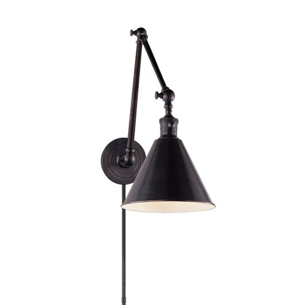 Picture of BOSTON DOUBLE ARM LIB LAMP, BZ