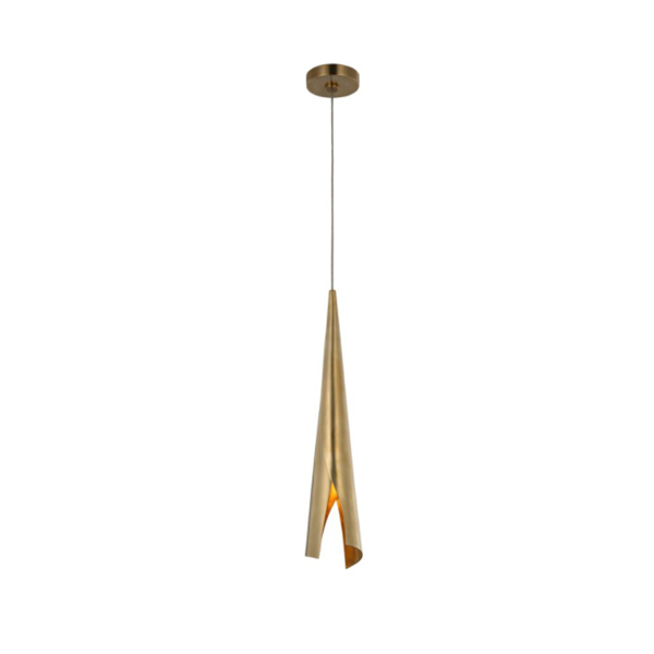 Picture of PIEL SM WRAPPED CHANDELIER, AB