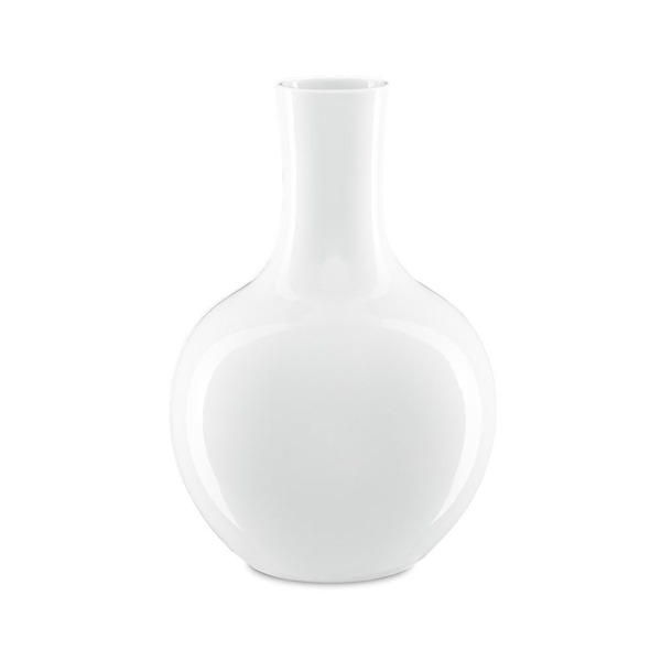 Picture of IMPERIAL WHITE GOURD VASE, LG